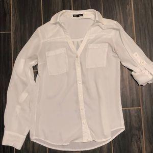 EXPRESS white blouse